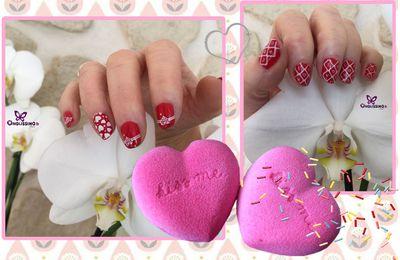 Nail art Valentine