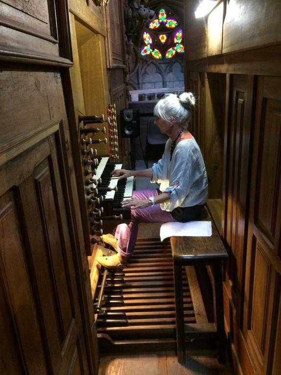 La classe d'orgue à St Nazaire de Béziers