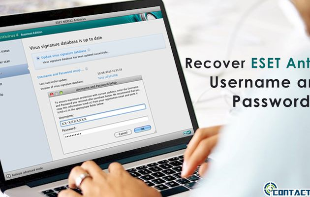 How to Recover ESET Antivirus Username and Password