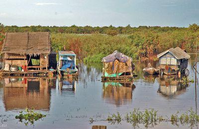 Cambodge, lac Tone