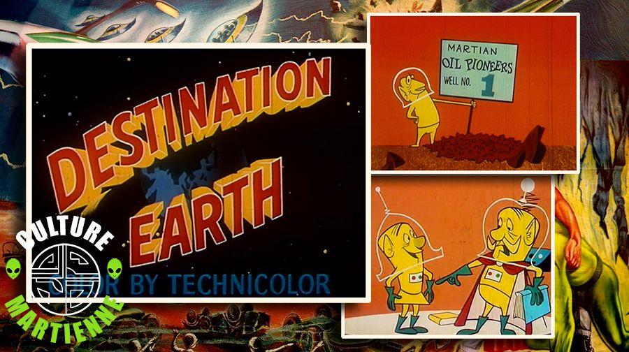 👽🎬 CARL URBANO - DESTINATION EARTH (1956)