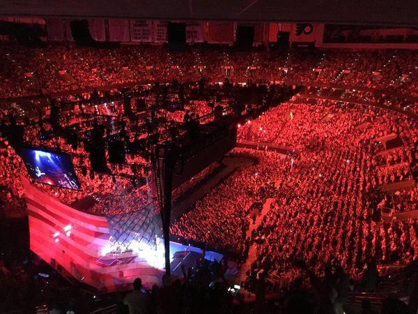 U2 -Philadelphie -Etats-Unis 13/06/2018 -Wells Fargo Center