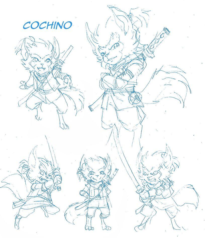 [R.1] : News N°4 : Cochino, un nouveau Légendaire ?