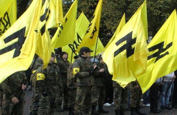 Ukraine : le fascisme ne passera pas ! 70 ans après la victoire contre le nazisme, les autorités françaises ne peuvent pas tolérer l'anticommunisme du régime de Kiev et le soutenir.