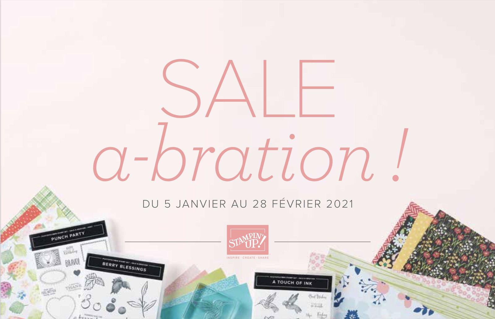 Sale-A-Bration janvier février 2021