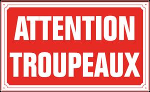 Attention troupeaux