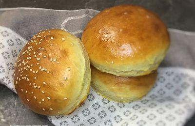 Pain hamburger maison extra moelleux recette facile au companion thermomix ou sans robot