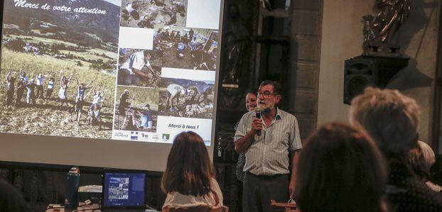 BFMd'ici reportage à Thorame Basse pour la reprise des fouilles archéologiques
