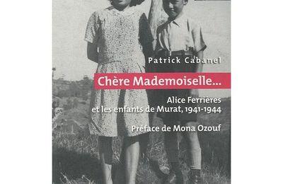 chère mademoiselle...