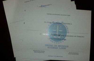 Diploma Corporativo para Centro de Estudios Sociedad Libre