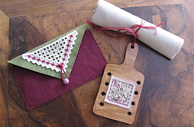 N is for Nightingale & The Norwich Stitch