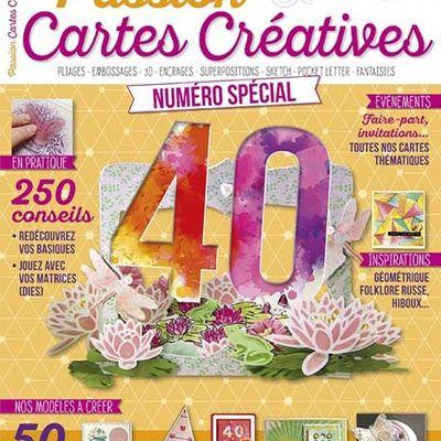 En direct des blogs_Magazine Passion Cartes Créatives#40