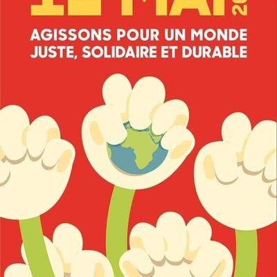 1ER MAI 2021: Agissons pour un monde juste, solidaire et durable ✊