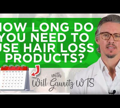 Hair Growth Products : How Long Do You Need To Use Hair Loss Products