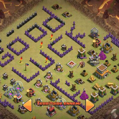 Clash of Clans : le village fair play