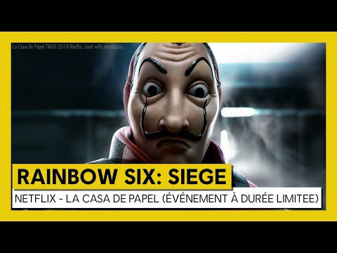 [ACTUALITE] TOM CLANCY'S RAINBOW SIX SIEGE - ÉVÉNEMENT LA CASA DE PAPEL DISPONIBLE GRATUITEMENT CE WEEK-END