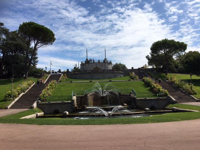 Parc Jouvet à Valence
