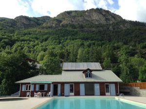 Visuel de la piscine de Colmars les Alpes