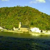 Goldwing Unsersbande - traversée ferry lorelei