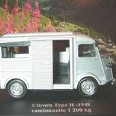 FASCICULE N°2 CITROEN TUB TYPE H 1948 CAMIONNETTE 1200 KG 1/43 ELIGOR - car-collector.net