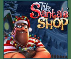 machine a sous mobile Take Santa's Shop logiciel Betsoft