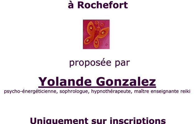 Activités Yolande Gonzales