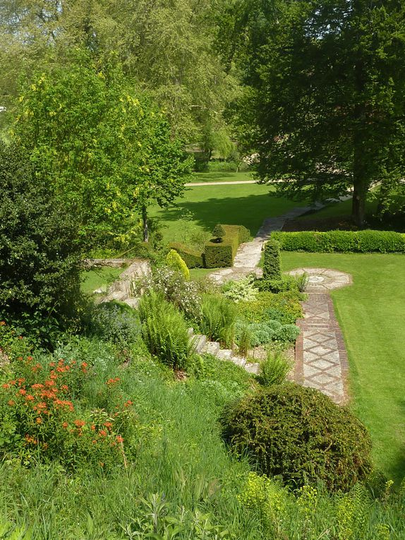 A la découverte du jardin de Plessis-Sasnières