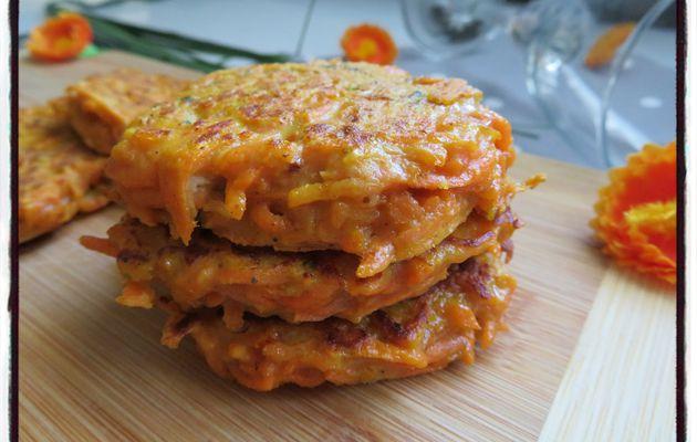 Galettes de carottes à la mexicaine