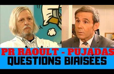 Analyse des questions biaisées de Pujadas au Pr Didier Raoult