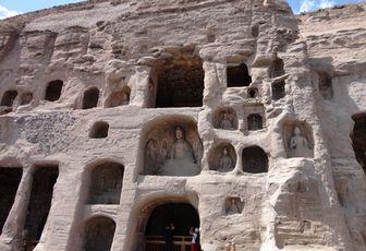 Les Grottes de Yungang (云冈石窟) - Datong, Shanxi, Chine - C'était un beau voyage (8)