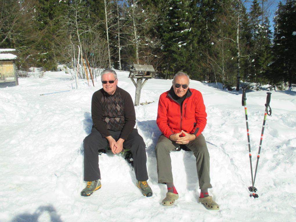 La  Traversée du Jura en raquette