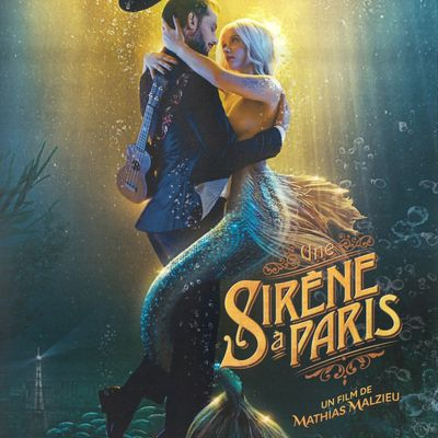 "Film ""Une sirène à Paris"" de Mathias Malzieu DVD Sony 2019/2020"