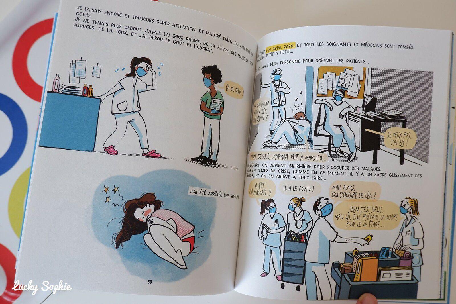 Le journal de Célia, infirmière au temps du Covid par Mademoiselle Caroline