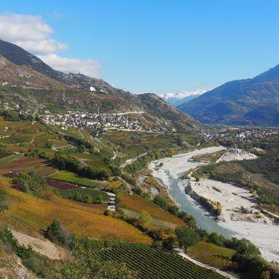 Automne 2020: partie 2, la plaine du Rhône