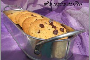 Cookies saveur pain d'épices