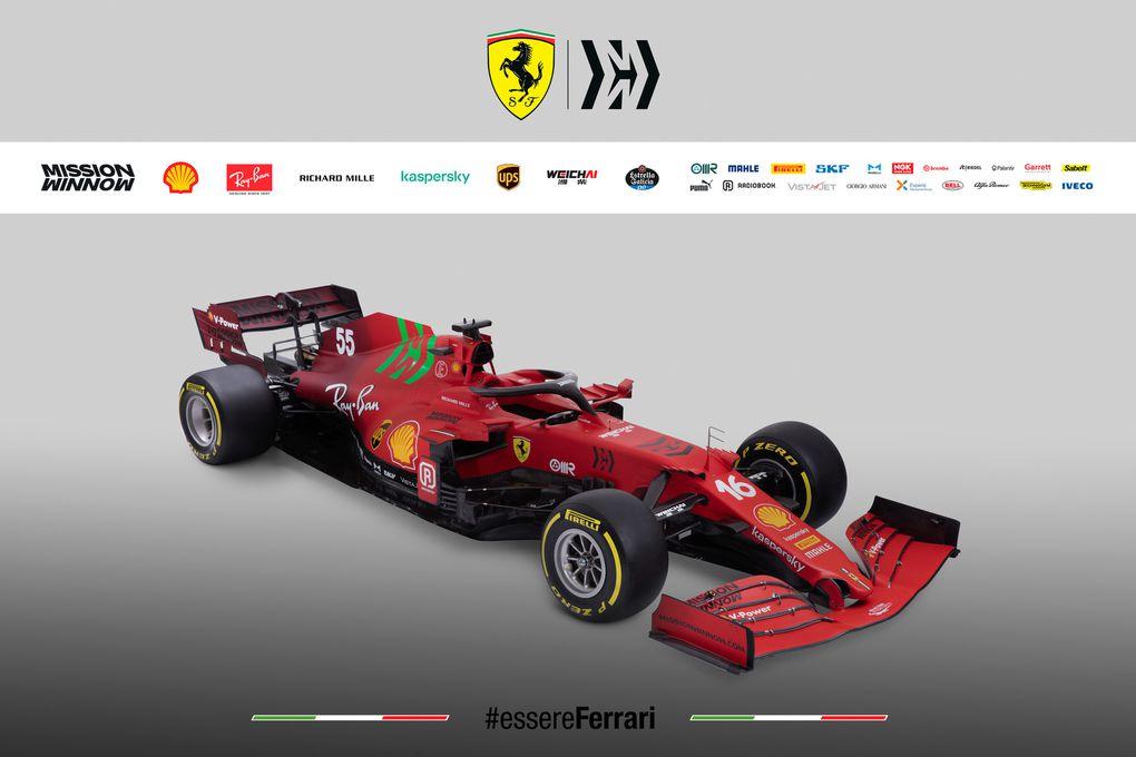 Non une Ferrari n'est plus (toute) rouge !