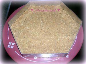 Cheesecake sans cuisson aux oursons guimauve et banane