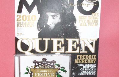 MOJO MAGAZINE - FREDDIE MERCURY & QUEEN (JANVIER 2011)