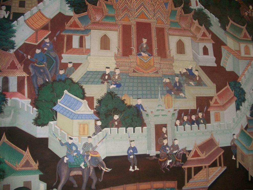 Musée de l'art Thaï et vues diverses