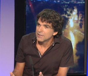 Interview de Chappatte, star du dessin de presse international