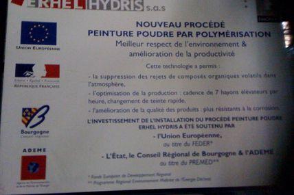 """Le """" Blocus """" de l'usine Erhel hydris - 161009"""