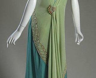 1928 Callot Soeurs evening dress