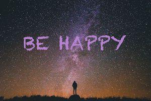 Une seule résolution: Être heureux