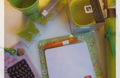 """Swap """"Haut en couleurs"""" : du vert dans ma boîte aux lettres"""