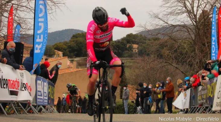 Première victoire de la saison pour Célestin Guillon et Laval Cyclisme 53. - Direct Vélo