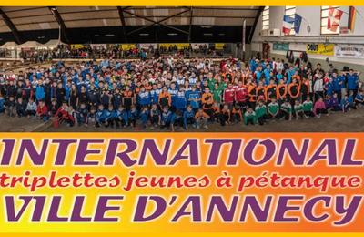 Communiqué de L'international Pétanque Jeunes de ANNECY