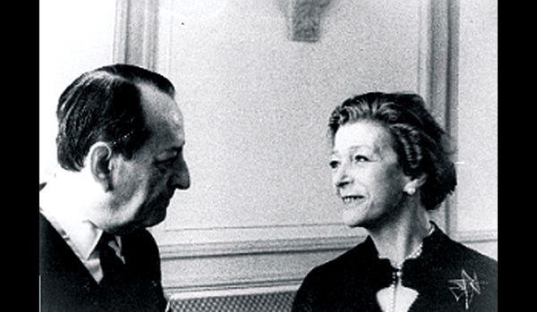 André Malraux et Louise de Vilmorin