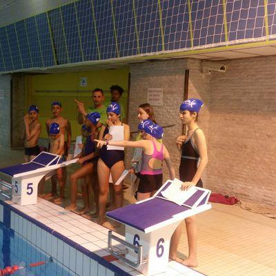 Les jeunes nageurs de la FAC passent le test du Sauv'nage