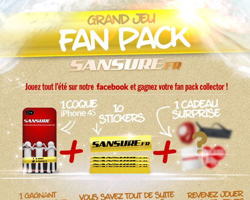 Grand jeu fan pack Sansure ! (JEU TERMINÉ)