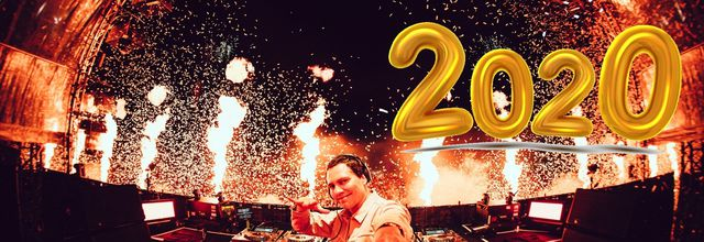 Happy New Year, Tiësto and fans of the world